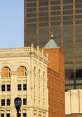 Old and new buildings in downtown Louisville — Stock Photo