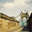 Historic bridge in Cincinnati, Ohio - Foto Stock