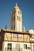 Kathedrale in segovia, spanien. — Stockfoto