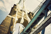 Historic bridge in Cincinnati — Stock Photo