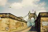 Historic bridge in Cincinnati, Ohio — Stock Photo