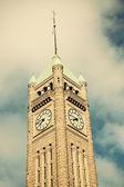 钟塔在明尼阿波利斯 — 图库照片