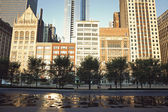 Michigan Avenue in Chicago — Stock Photo