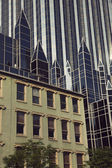 Pittsburgh - old and new — Stock Photo