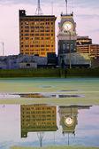 Klocktornet - stadshuset — Stockfoto