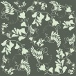 Seamless background from flowers ornament, fashionable modern wallpaper o — Stok Vektör #5576158