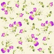 Seamless background from a flowers ornament, fashionable modern wallpaper o — Stock Vector
