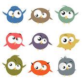 Sada ptáků — Stock vektor