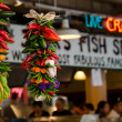 Spicy decorations at Pike Market Place — Stock Photo #6457704