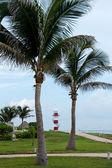 Punta Cancun lighthouse — Stock Photo