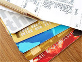 Credit cards. — Stock Photo