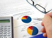 Pie investment chart. — Stock Photo