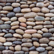 Pebbles background — Stock Photo