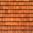 Old red tile roof. A background — Stock Photo #5433379