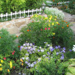 Stock Photo: Landscaped flower garden