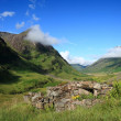 Stock Photo: Glencoe, in Highlands of Scotland.