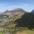 Panorama of Glencoe and Loch Leven. — Stock Photo #6533081