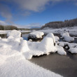 Stock Photo: Winters day in Scottish Highlands.