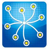 Icona di condivisione — Vettoriale Stock