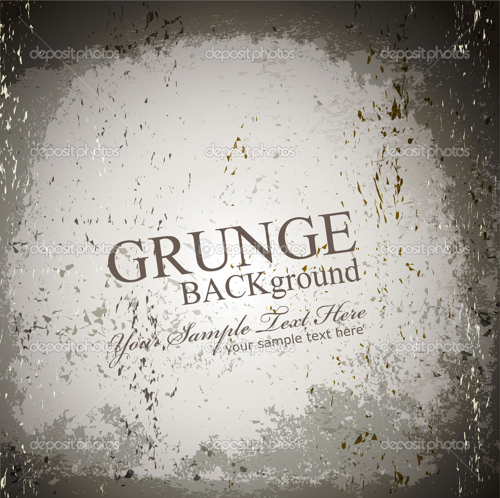 Vector grunge gray background  — Stock Vector #5653625