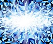 Vector ice dark-blue background — Stock Vector