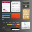 Vector elements web design — Stock Vector
