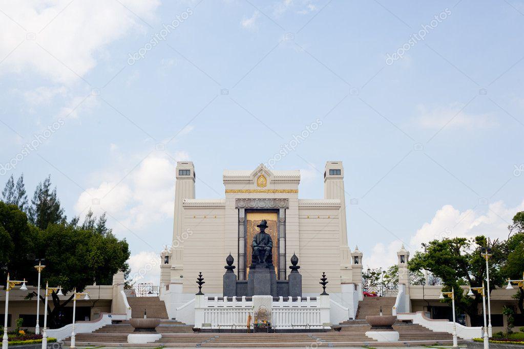 Annual Monument King Rama 1. — Stock Photo © noname454 ...