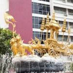 Thai cart. — Stock Photo