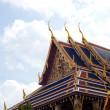 Roof of temple thailand. — Stock Photo