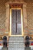 Thailand doors drawings. — Stock Photo