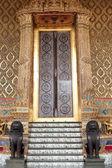 Thailand doors drawings. — Stock Photo