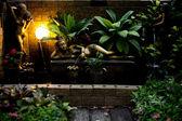 Art in garden — Stock Photo