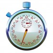Stock Vector: Stopwatch