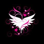 Vingar av en ängel — Stockvektor