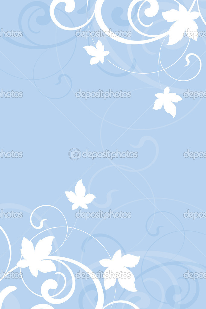 Floral background is decorated design elements — Stock Vector #6396000