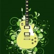 Royalty-Free Stock Vector Image: Abstract with guitar