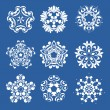 Set of snowflakes — Stock Vector #6671113