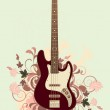 Abstract with electric guitar — Stock Vector #6674251