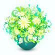 Royalty-Free Stock Vektorgrafik: Bunch of flower