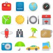 Royalty-Free Stock Vector Image: Travel icons