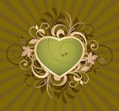 Valentines hjärta — Stockvektor