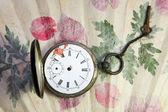 Antiguo reloj de bolsillo — Foto de Stock