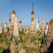 Buddhist Stupas. Indein - Stock Photo