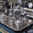 Antique silver Teset — Stock Photo #5666146