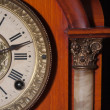 Stock Photo: Antique clock close up