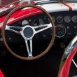 Dashboard of a sports car — 图库照片