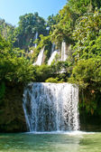 Thi Lor Su - the biggest waterfall in Thailand — Stock Photo
