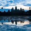 Sunrise in Angkor Wat temple complex in Siem Reap, Cambodia. — Stock Photo