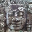 Smiling faces in wat Bayon in Angkor wat complex, Sieam Reap, Cambodia. — Stock Photo #5750708