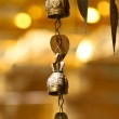 Two tradition asian bells in Buddhist temple in Chiang Mai, Thailand. — Stock Photo